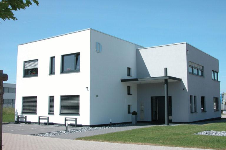 Neubau Bürogebäude mit Lagerflächen in Bielefeld