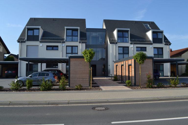 Neubau eines Mehrfamilienhauses mit 8 WE in Leopoldshöhe