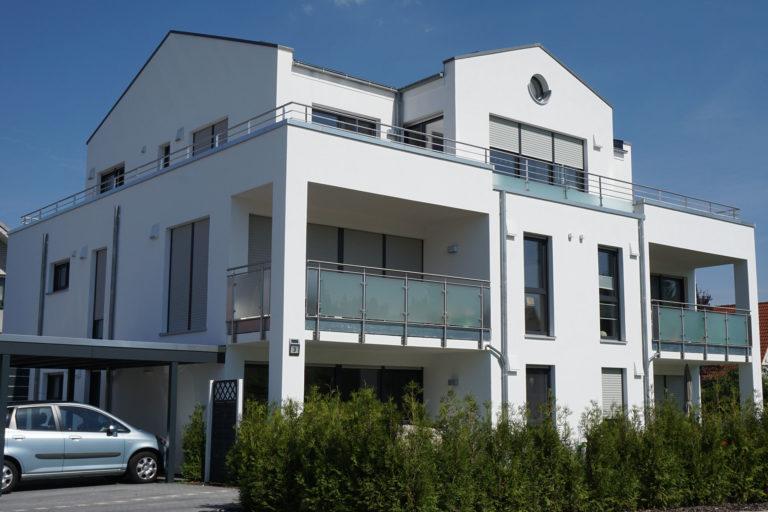 Neubau zweier Mehrfamilienhauser in Leopoldshöhe